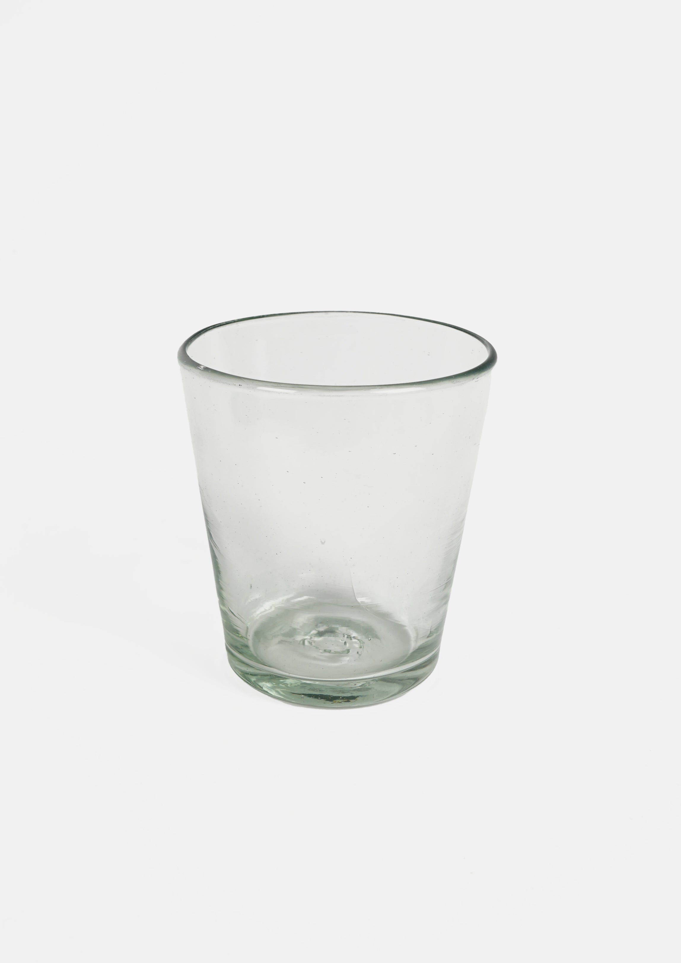 Handblown Mexican Tapered Drinking Glass