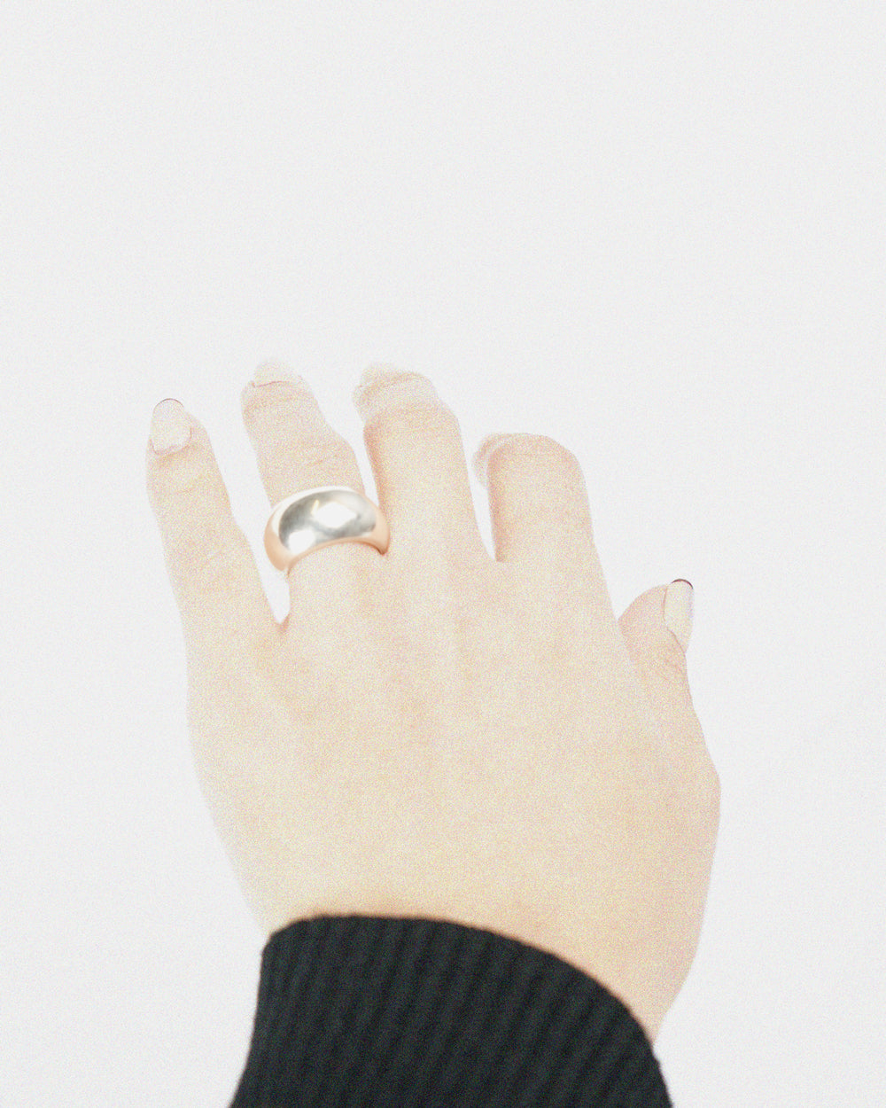 Silver Bold Ring
