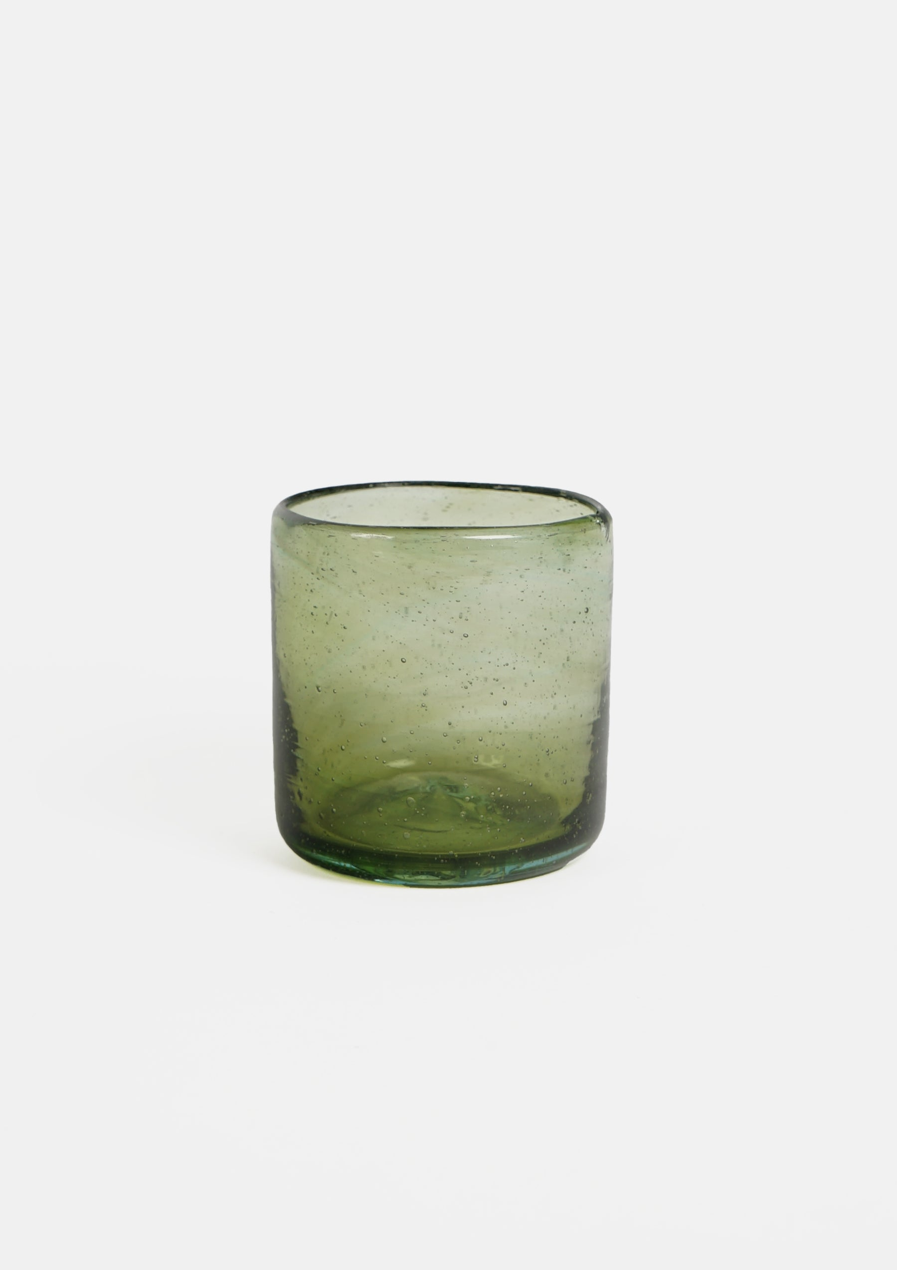 Handblown Mexican Glass Small / Green