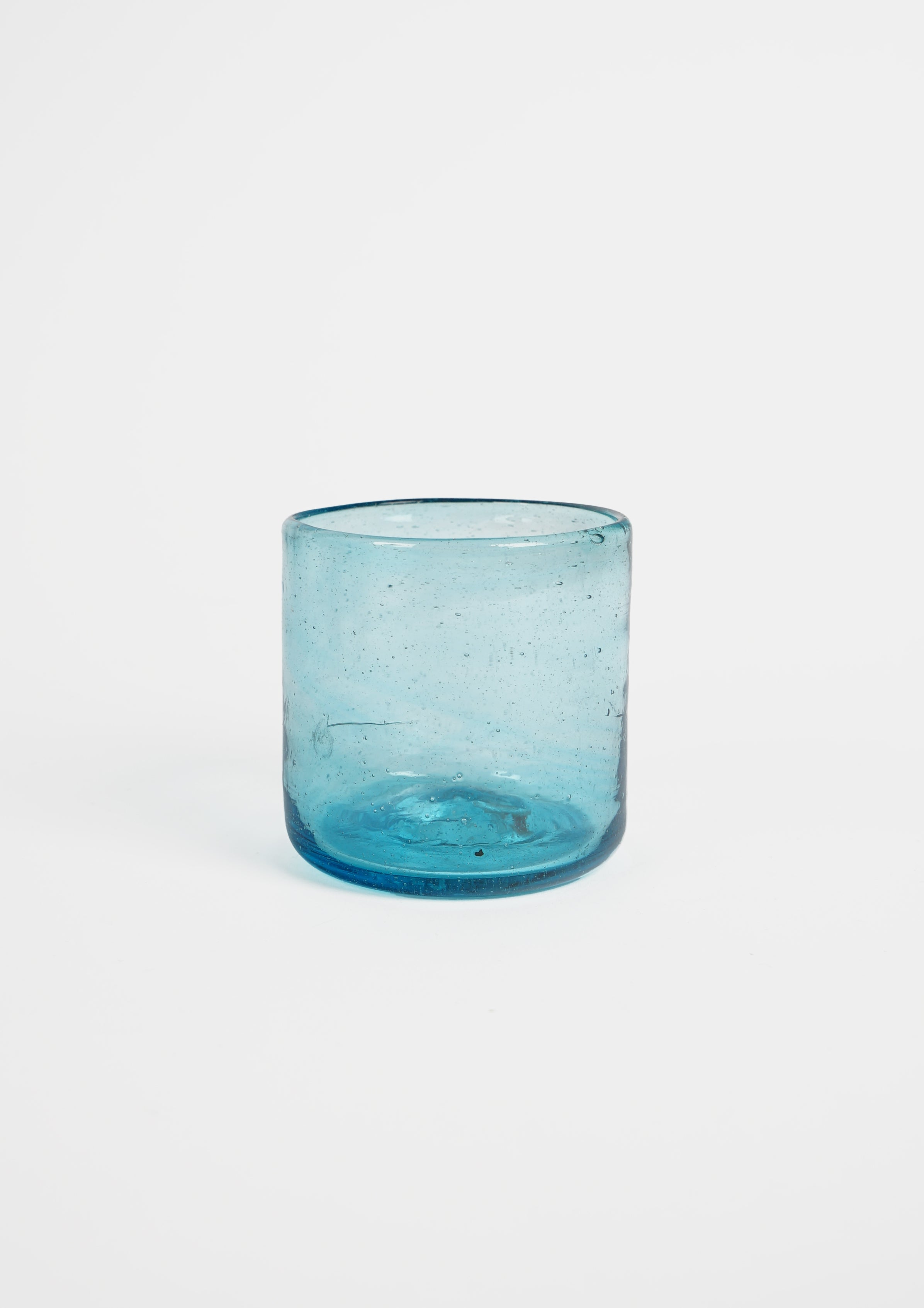 Handblown Mexican Glass Small / Blue