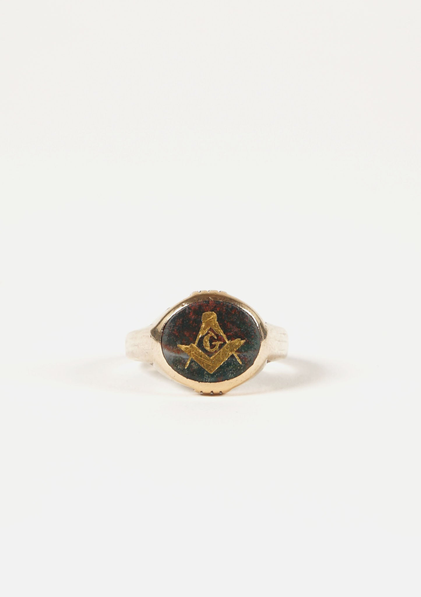 10K Masonic Gold Ring