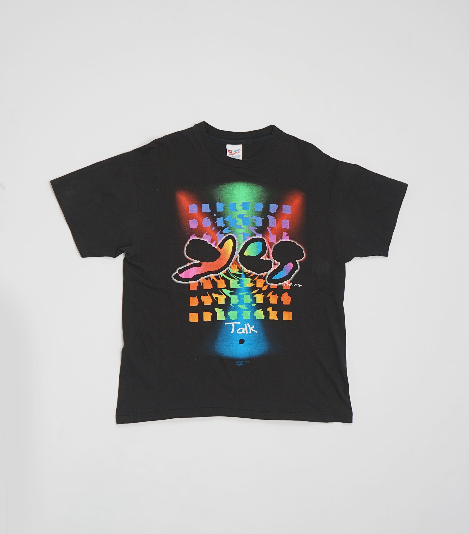 1994 Peter Max Talk Yes World Tour Tee