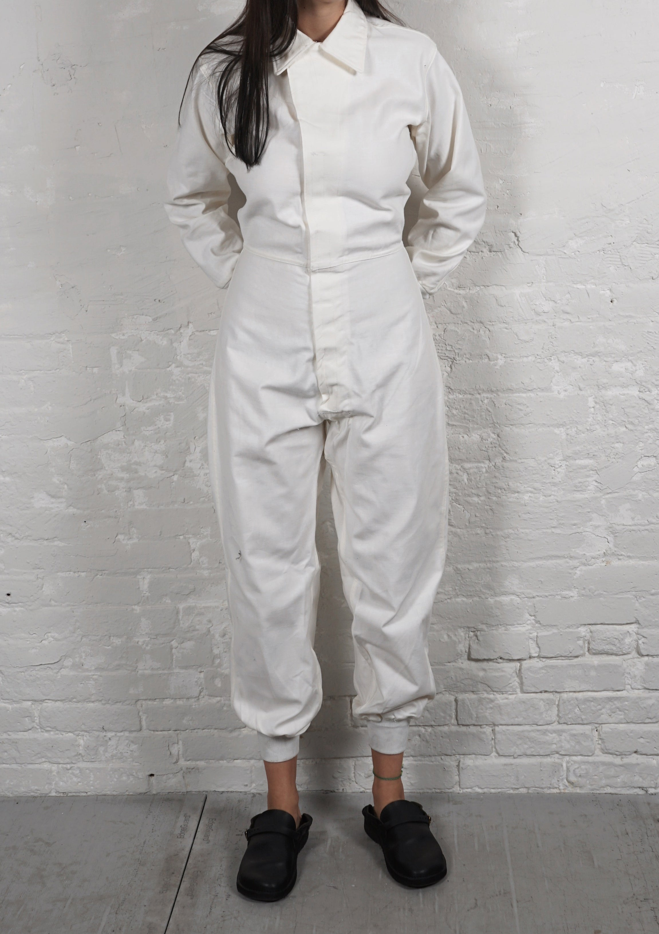 US Military White Cotton Jumpsuits
