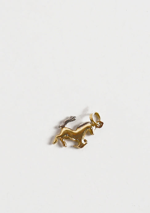 <strong>VINTAGE</strong></br>14k Gold Horse Charm