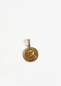 <strong>VINTAGE</strong></br>18k Coin Charm