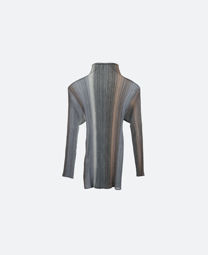 Issey Pleats Please Pleated Top L/S