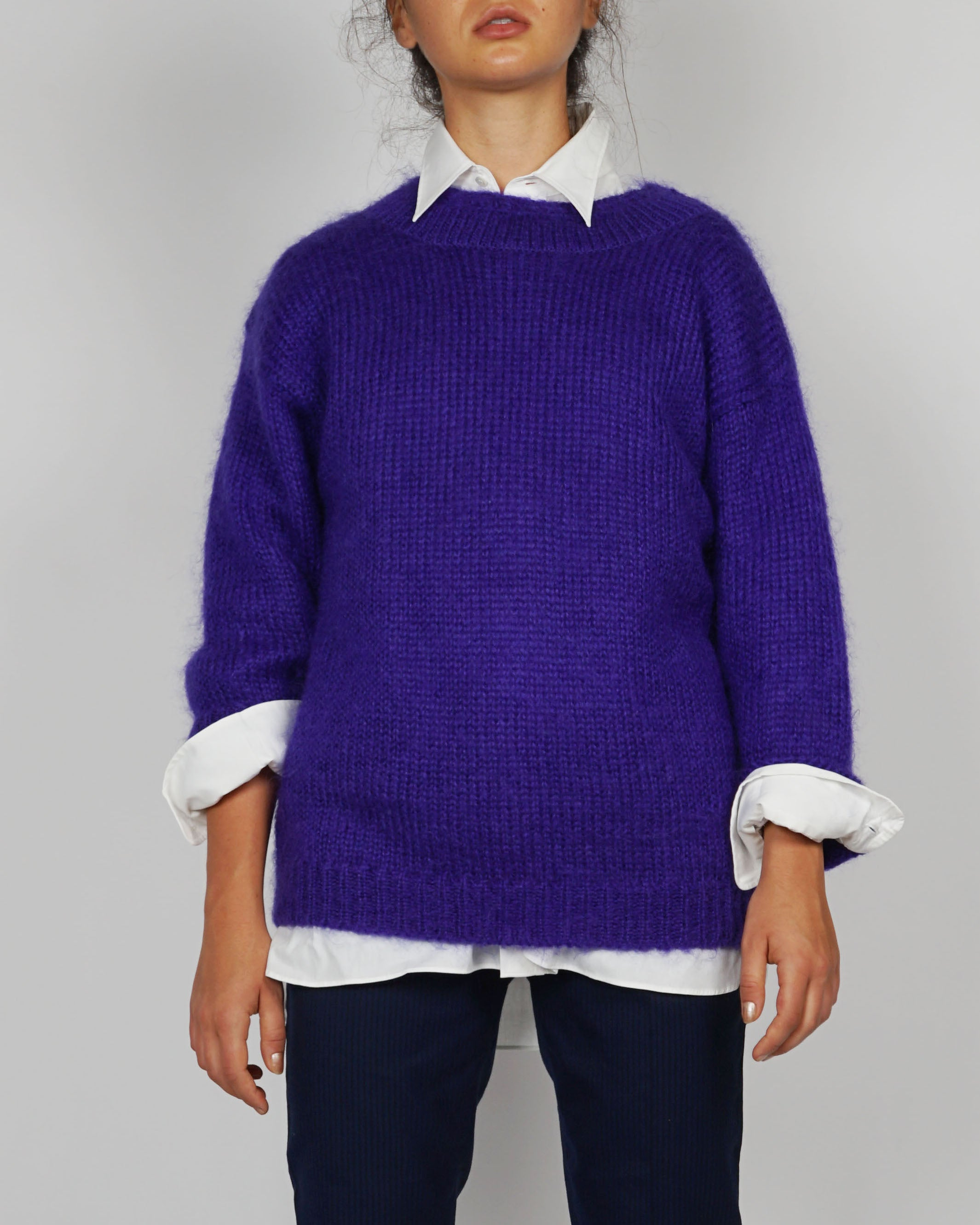 Rafaelle Wool Mohair Sweater
