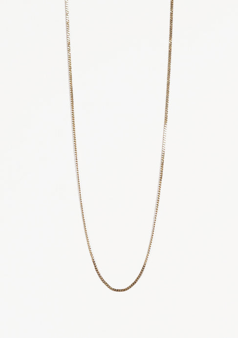 <strong>VINTAGE</strong></br>Gold Necklace Chain