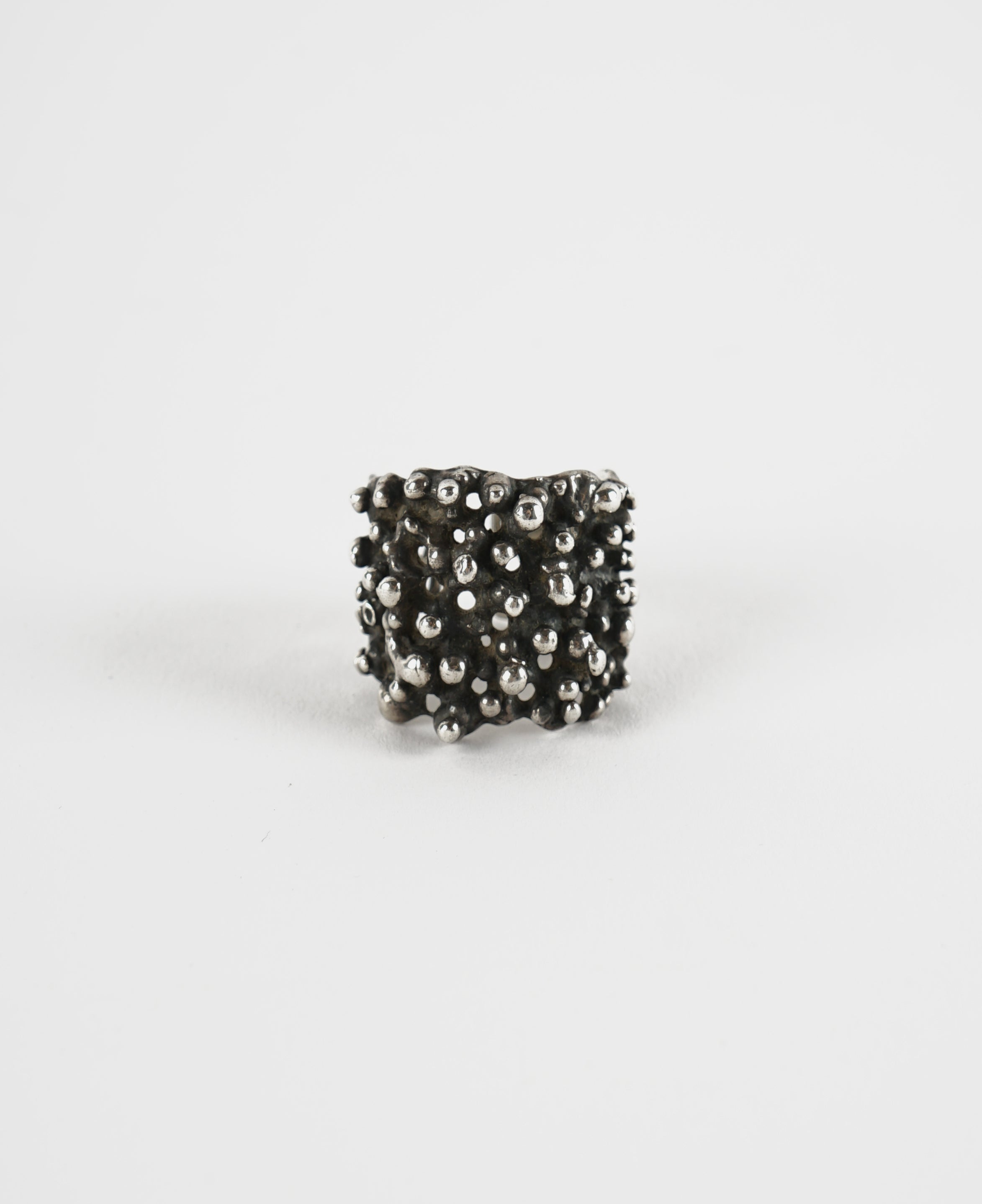 Textured Adjustable Ring