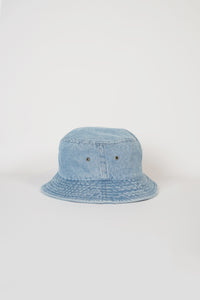 Cotton Bucket Hat / Light Blue