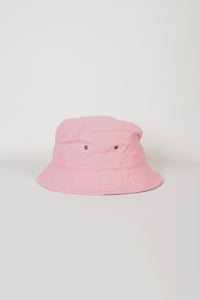 Cotton Bucket Hat / Pink