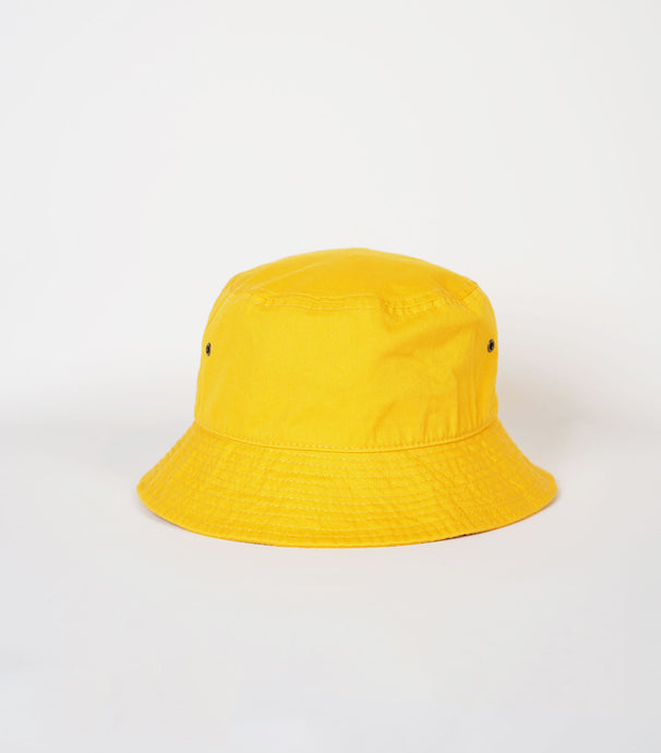Cotton Bucket Hat / Yellow