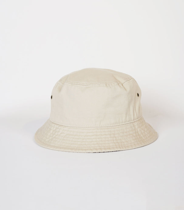 Cotton Bucket Hat / Beige