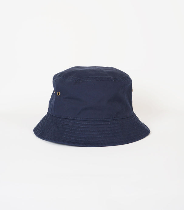 Cotton Bucket Hat / Navy