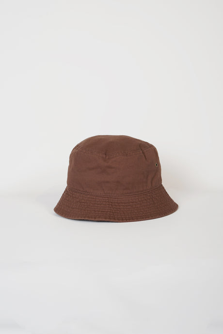 Cotton Bucket Hat / Brown