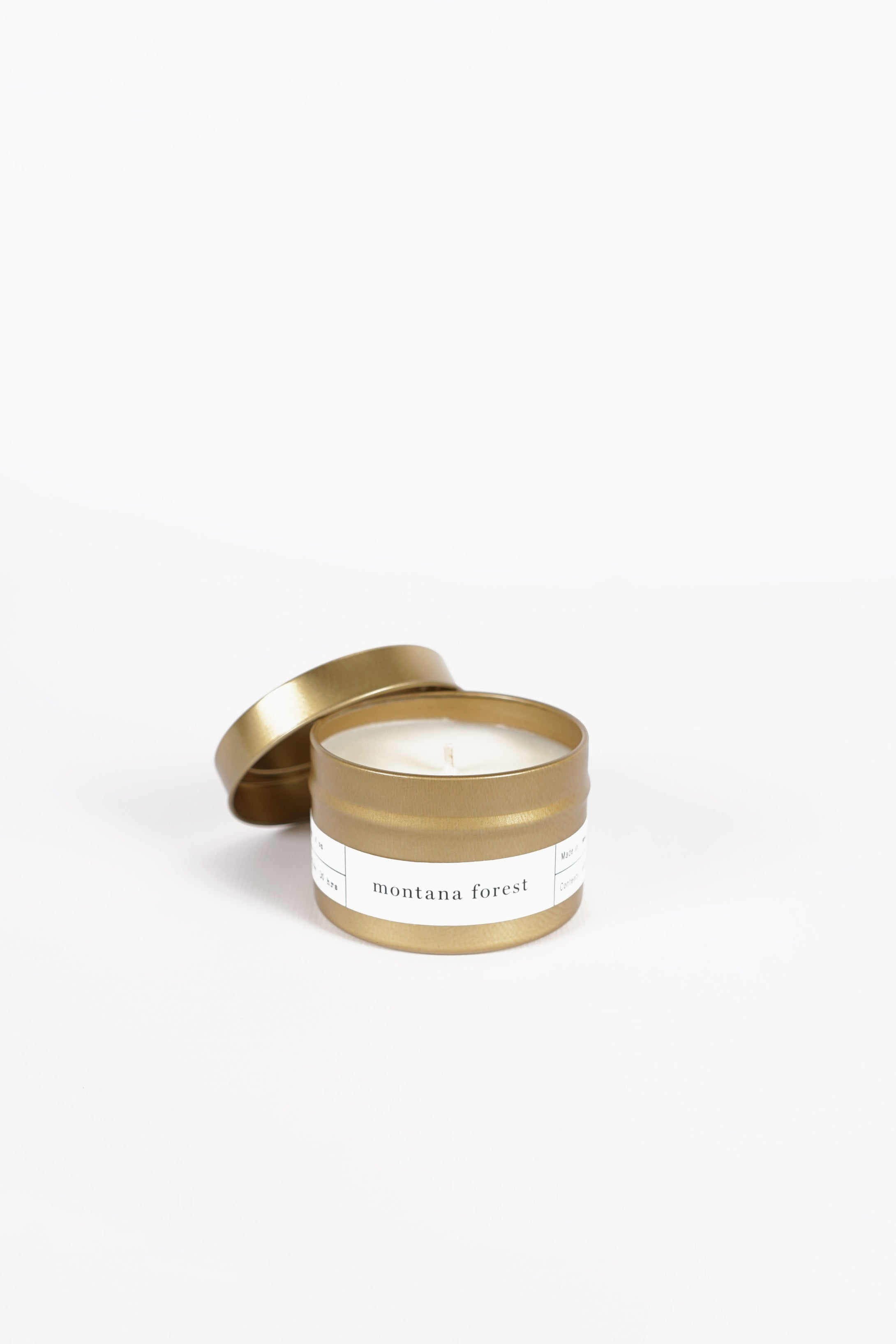 BROOKLYN CANDLE STUDIO </p>Gold Travel Candle