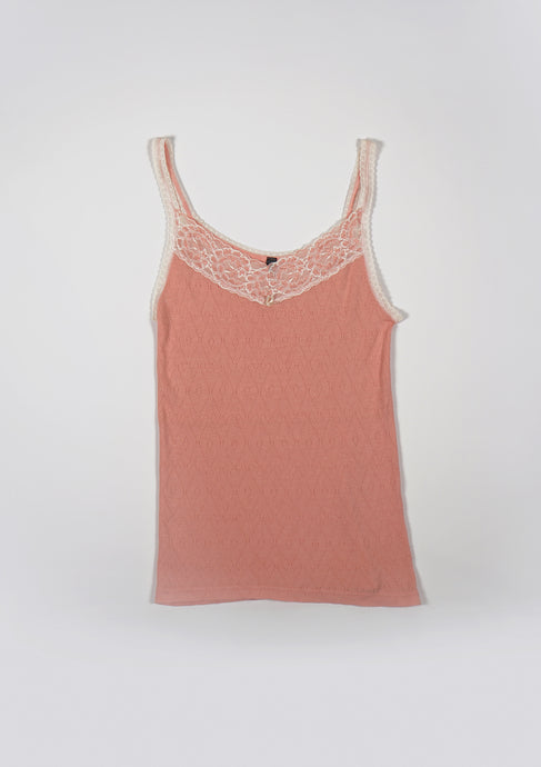 <strong>VINTAGE</strong></br>Lace Camisole Top