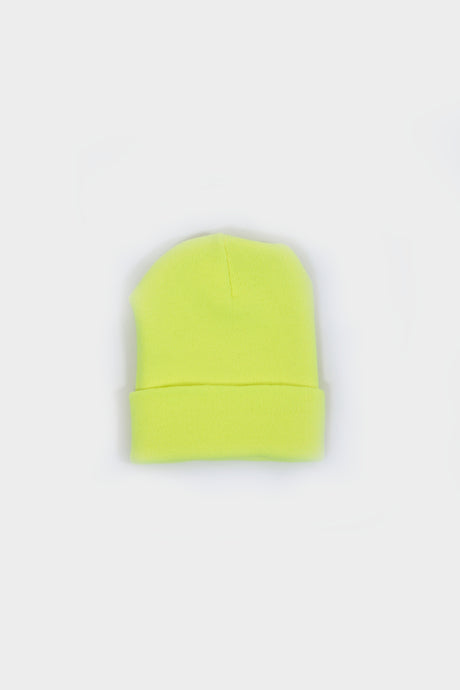Acrylic Watch Cap / Neon Yellow