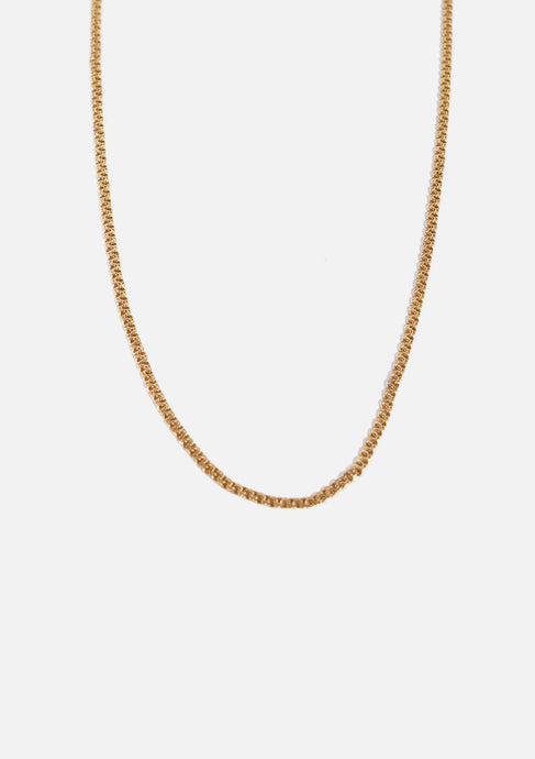 <strong>VINTAGE</strong></br>Gold Necklace