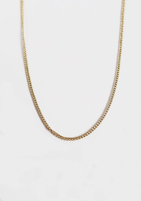 <strong>VINTAGE</strong></br>Gold Chain Necklace