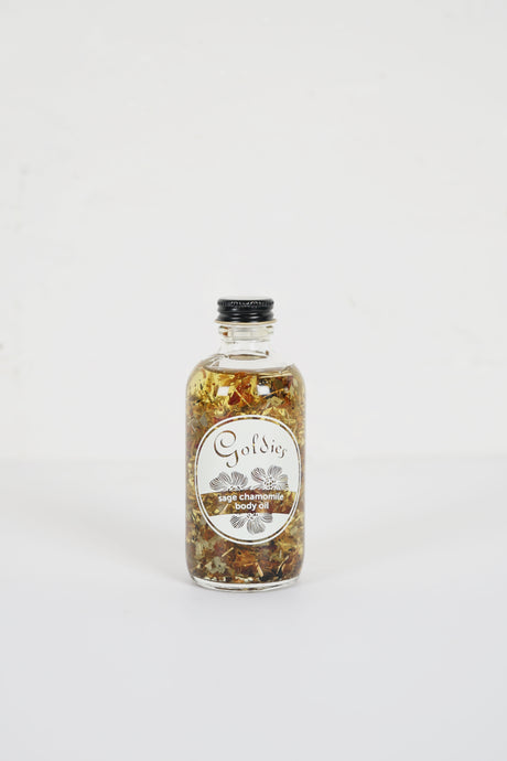 Goldies</br>Sage Chamomile Body Oil