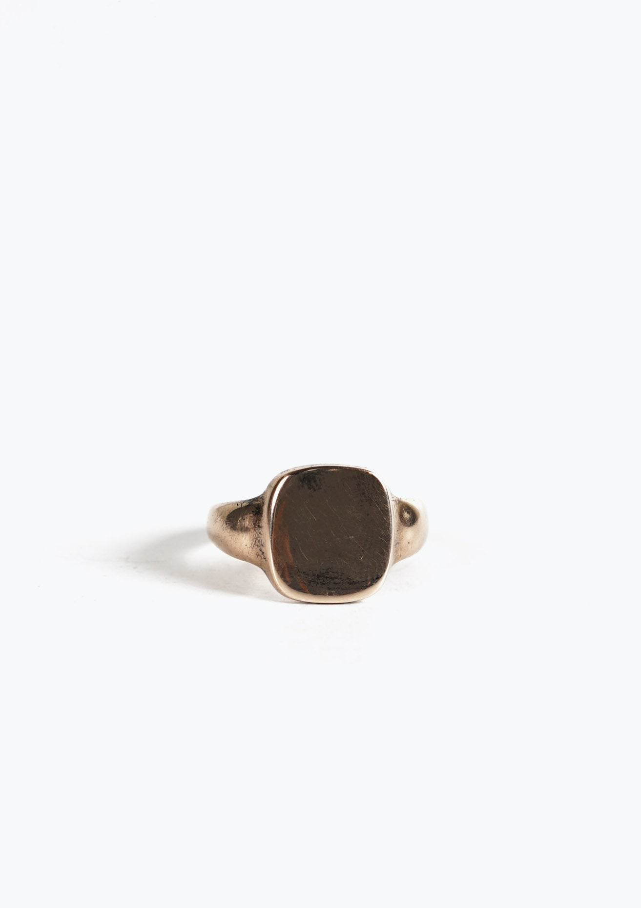 English Gold Signet Ring