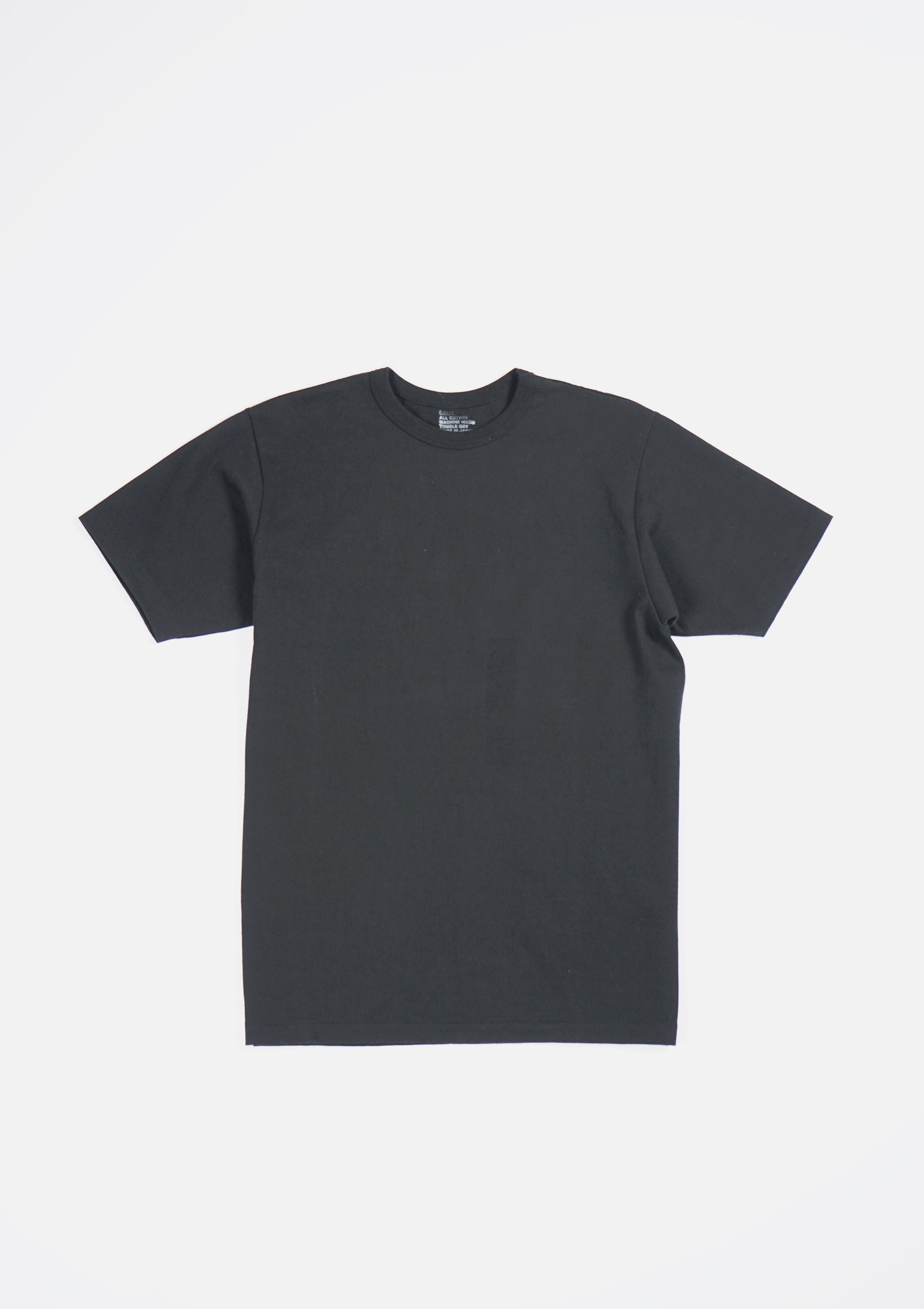 Heavy-weight T-shirts Black