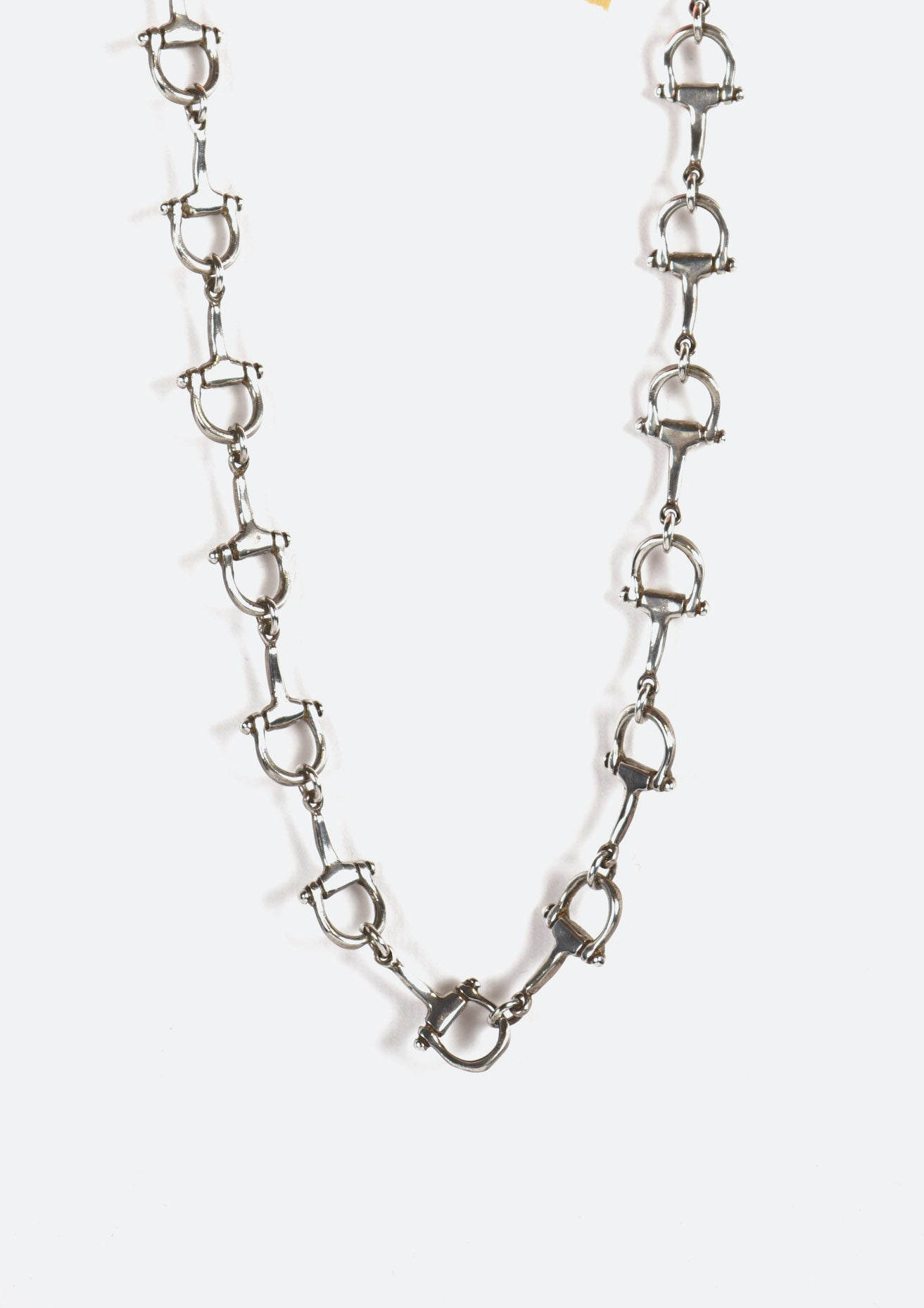 D shape Shackle Necklace