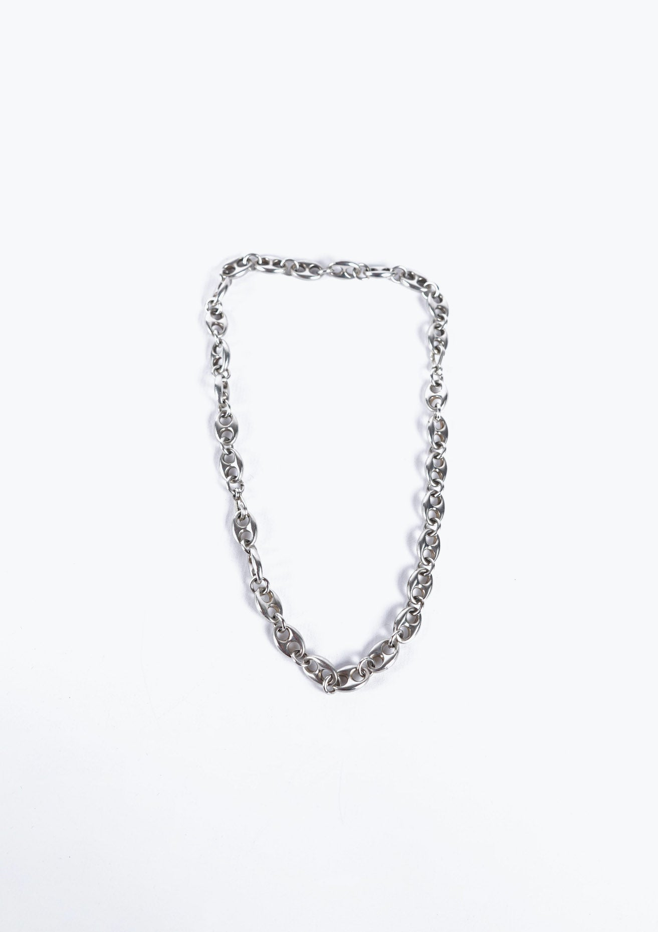 Mexican Silver Chain Necklace