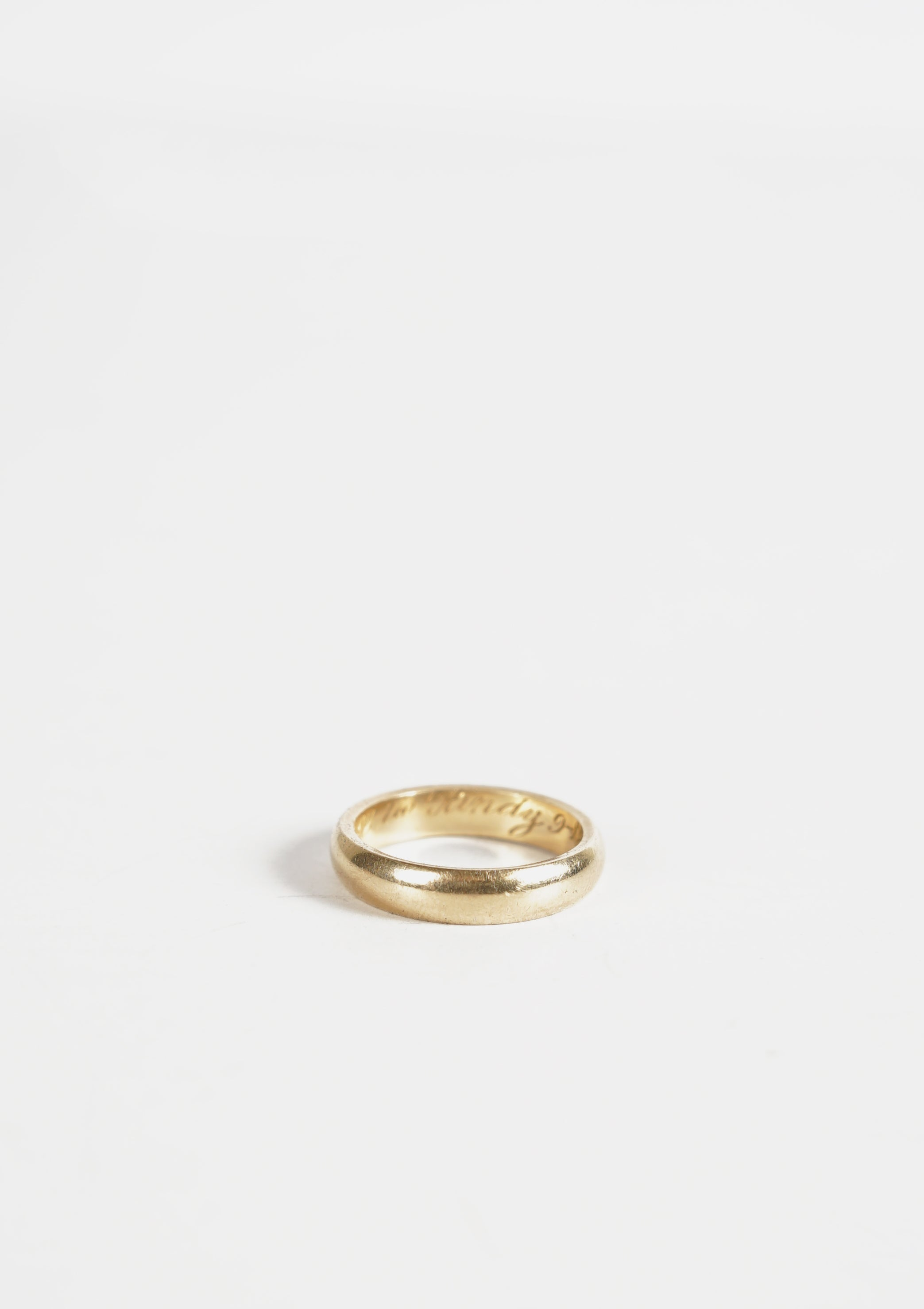 14k Gold Classic Ring / 4mm