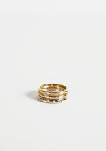Load image into Gallery viewer, <strong>VINTAGE</strong></br>18k Stacking Ring /YG,PG