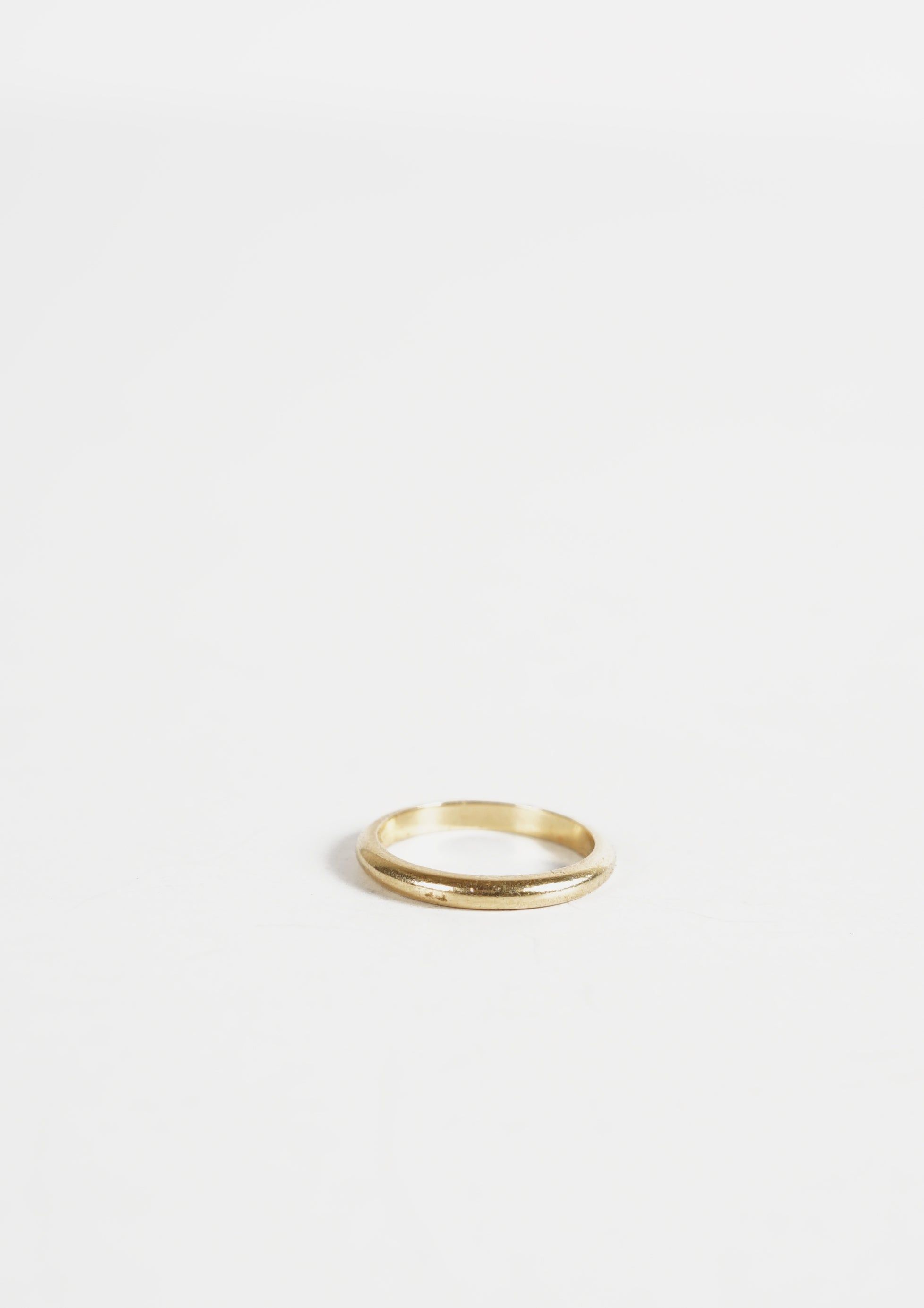 14k Solid Gold Ring / 2mm