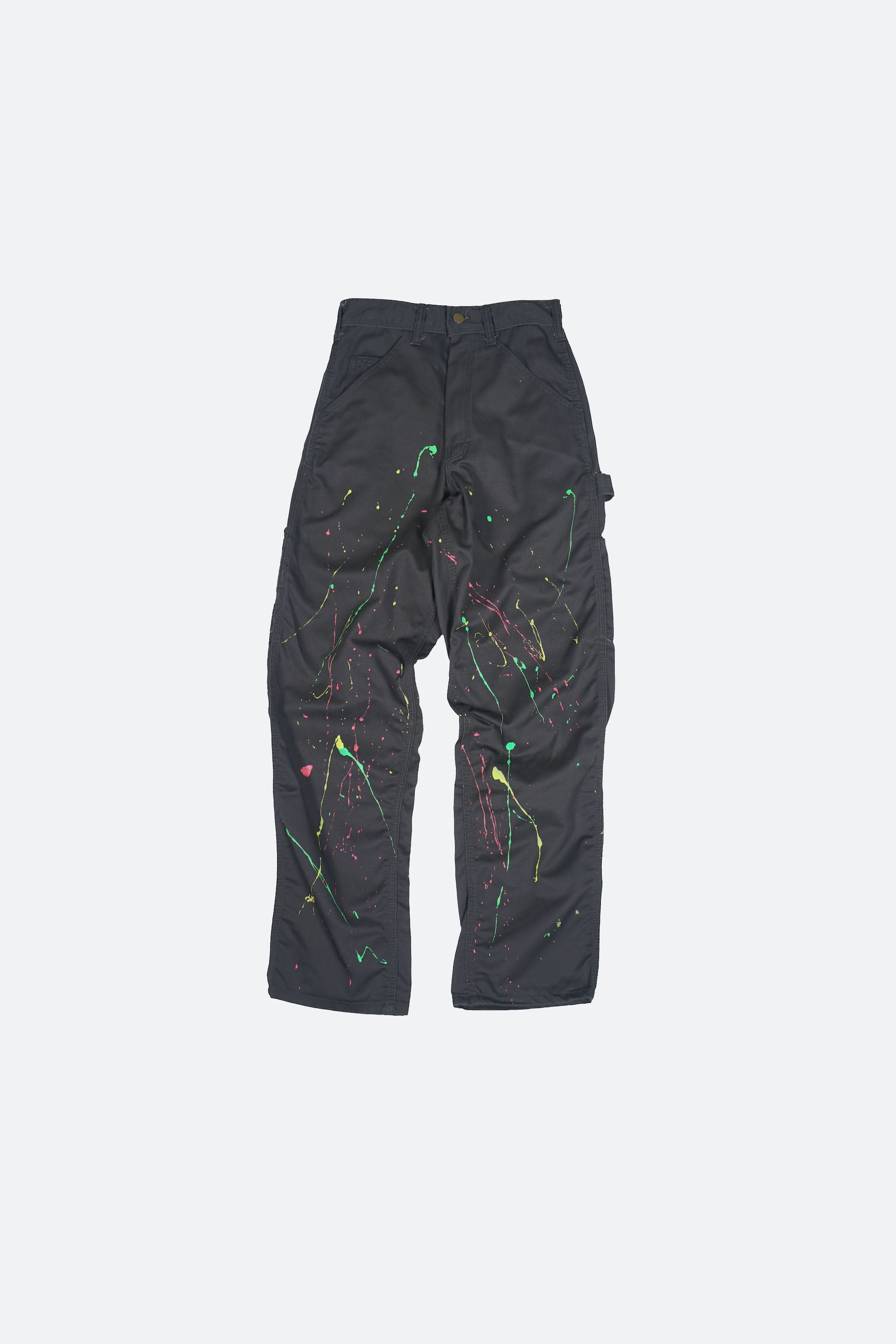 Splatter Painted Carpenter Pants W26