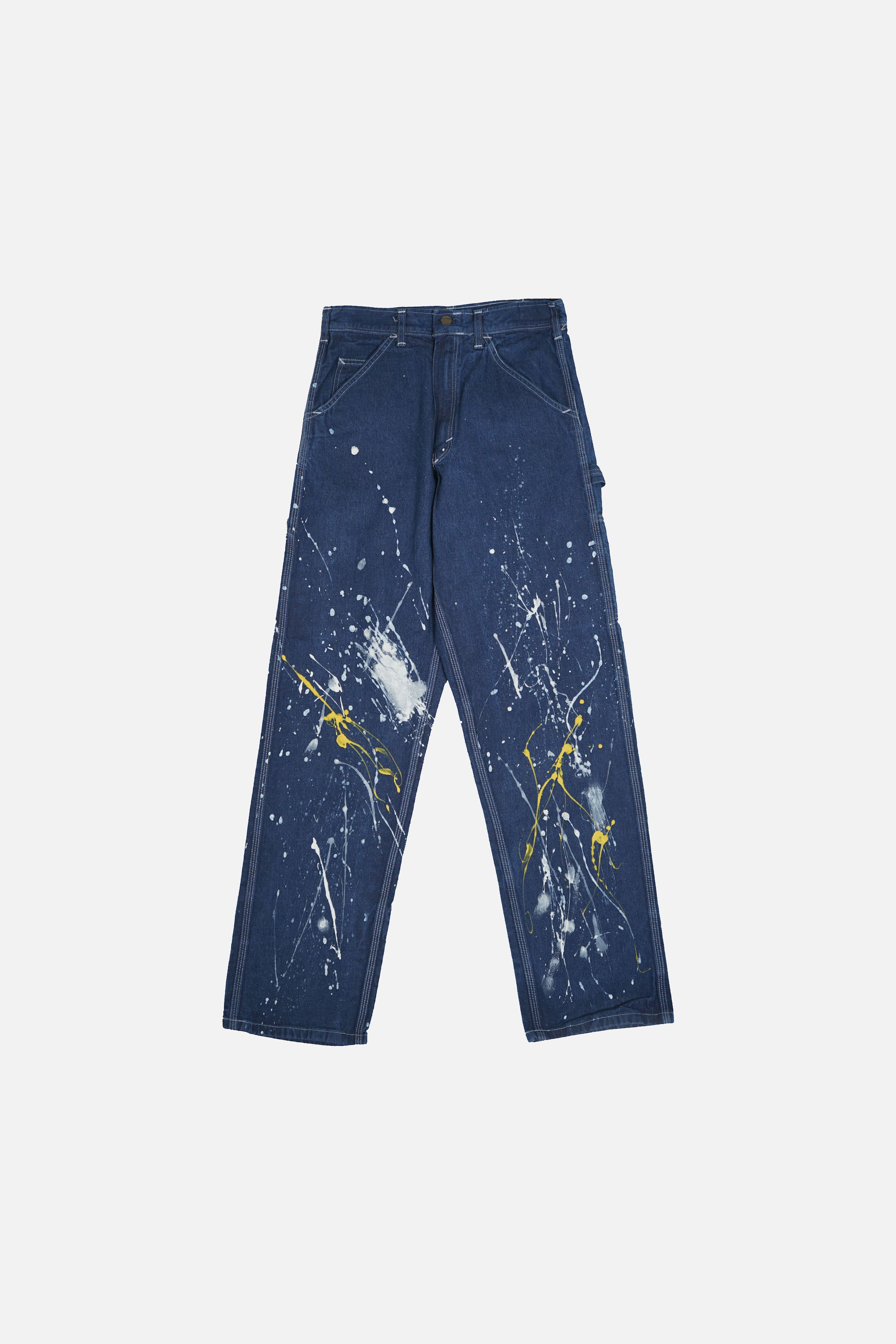 Splatter Painted Carpenter Pants W29