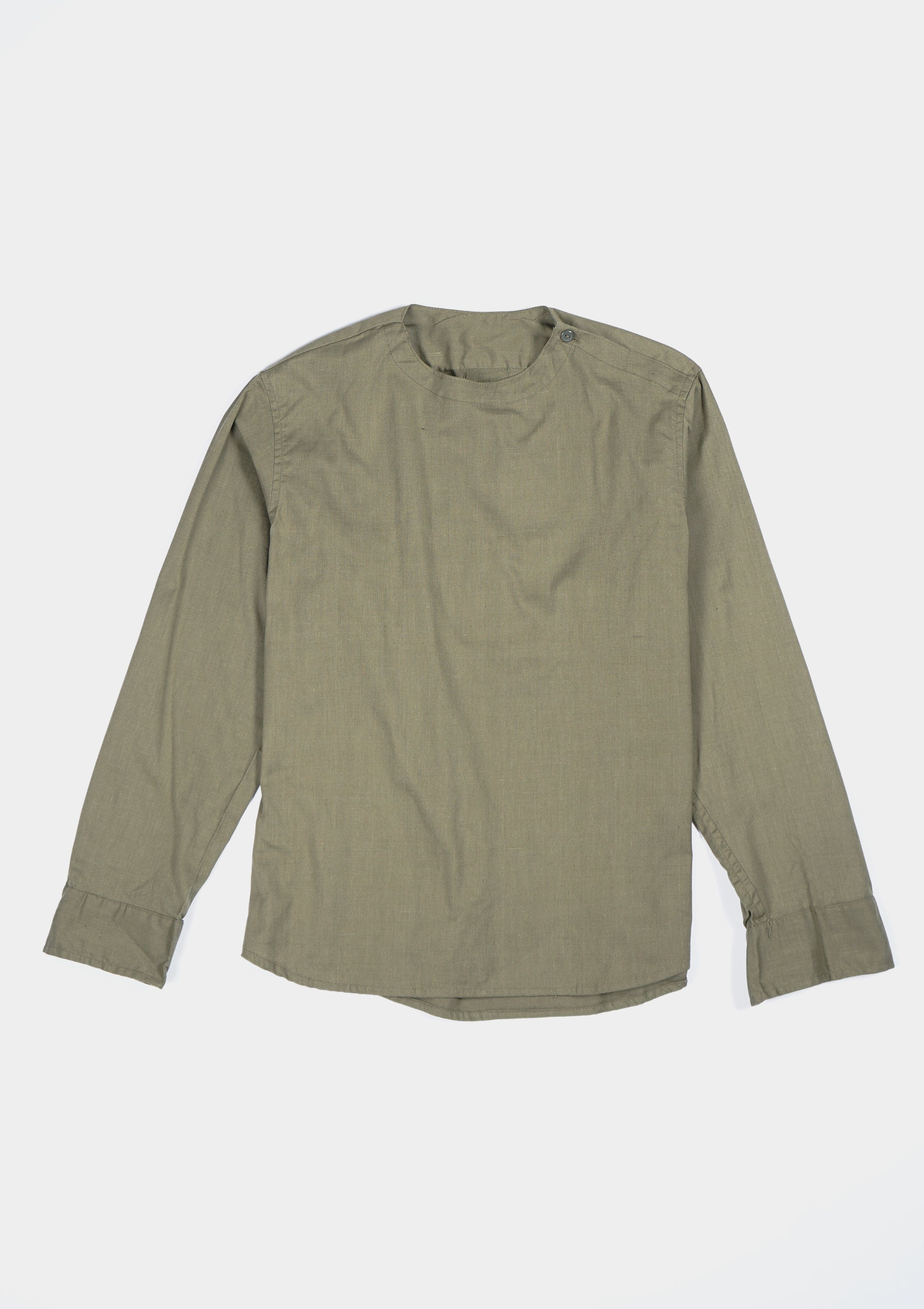 Euro Military Cotton Pullover Shirts