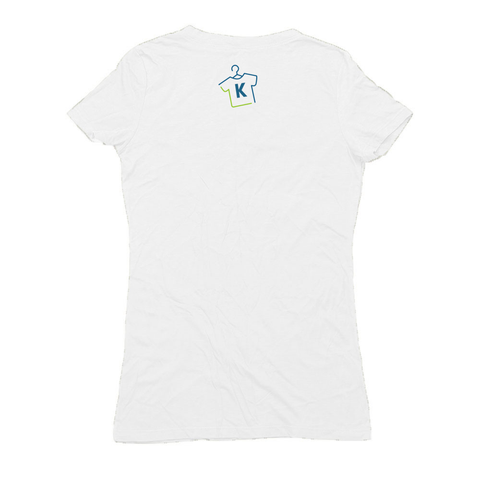 Image of W-Hemp Peace Love Hemp V-Neck Shirt
