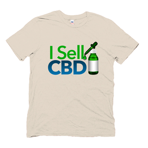 Hemp Tshirt I Sell CBD