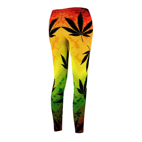 Image of Women's Cut & Sew Casual Leggings