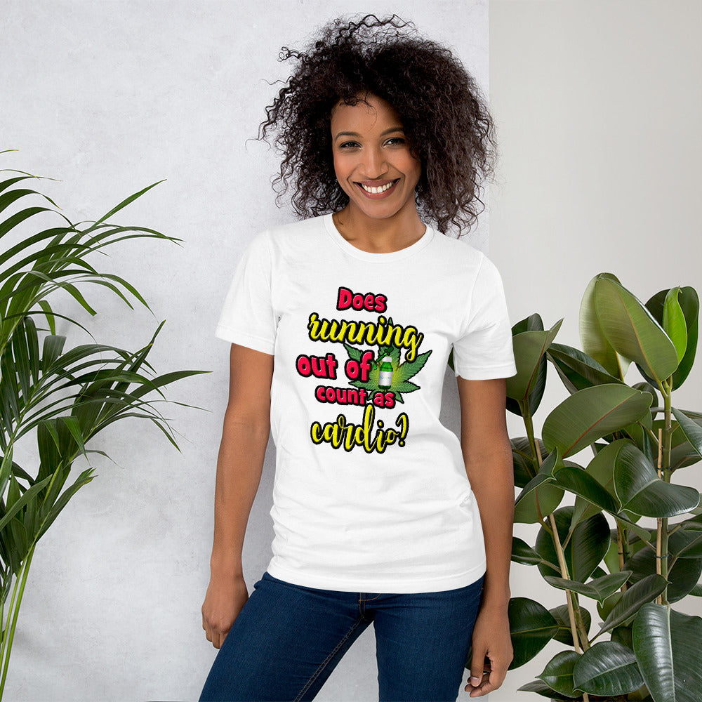 Does Running out of CBD Unisex T-Shirt