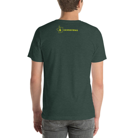 Image of Is running out of CBD Unisex T-Shirt