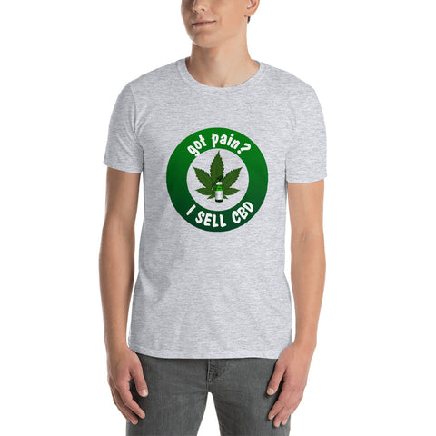 Image of I Sell CBD Short-Sleeve Unisex T-Shirt