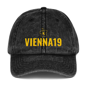 Vienna19 Vintage Cotton Twill Cap