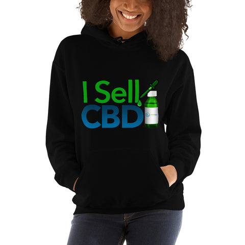 Image of I Sell CBD Hooded Sweatshirt
