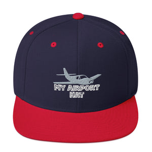 My Airport Hat Snapback