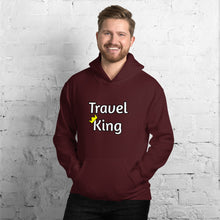 Load image into Gallery viewer, Travel King Hooded Sweatshirt