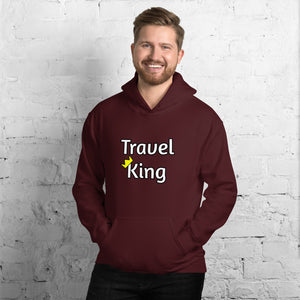 Travel King Hooded Sweatshirt