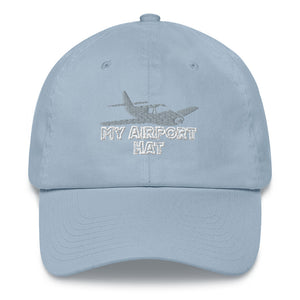 My Airport Hat Strap Cap