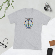 Load image into Gallery viewer, You want a PEACE of me? Unisex T-Shirt