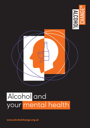 'Alcohol and your mental health' printed leaflets (pack of 30)