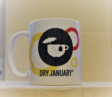 Load image into Gallery viewer, Dry January mug and pin badge multi-offer!